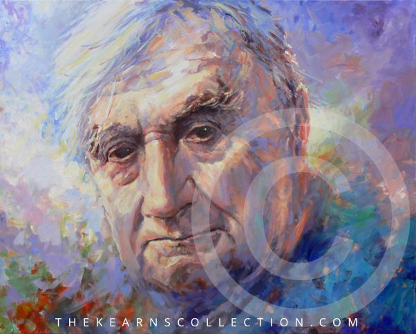 Ralph Vaughan Williams. Medium: Acrylic - Artist: Mariusz Kaldowski - Copyright: thekearnscollection.com