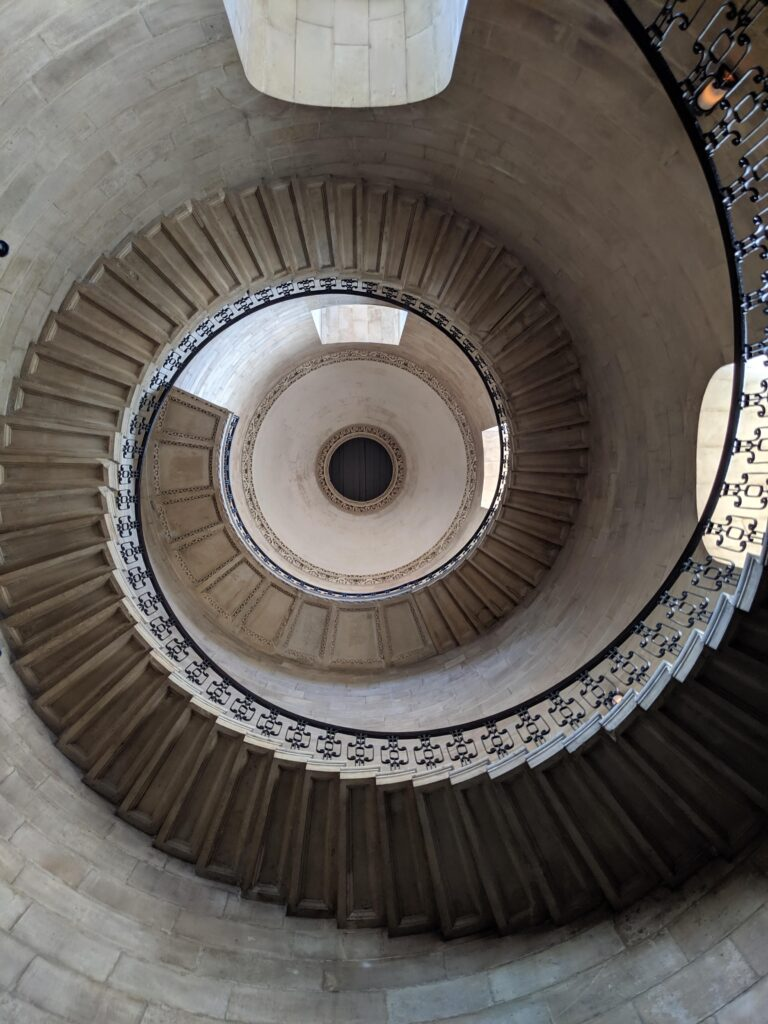 Dean's Staircase at St Paul's Cathedral